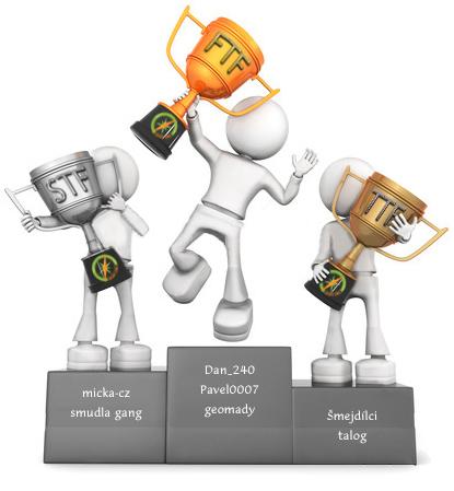 Stupínky vítězů