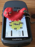 """Travelbug """"Der Wurm"""""""