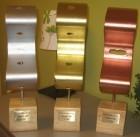 Goldene, silberne & bronzene Leitplanke