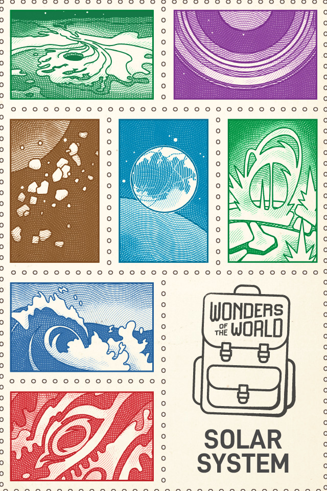 Solar System Wonders of the World