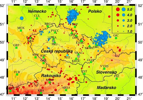 Zemětřesení v ČR