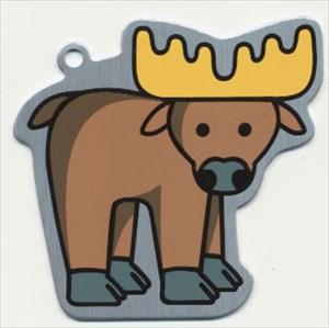 Alberta the Moose Travel Tag