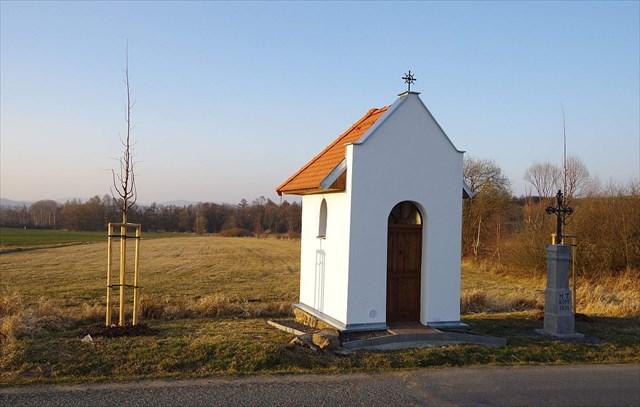 Kaplička v roce 2014
