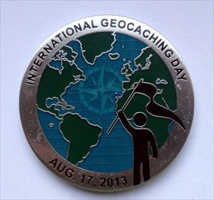 International Geocaching Day 2013 Geocoin