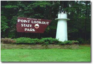 Gc22amk ssb point lookout state park traditional cache for Md fishing report point lookout