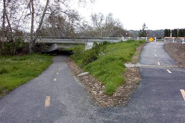 Almaden Expressway bridge