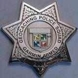 Geopolice badge
