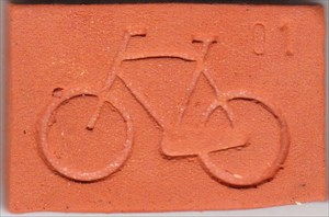 Original Dutch Clay Coin #01 (1)
