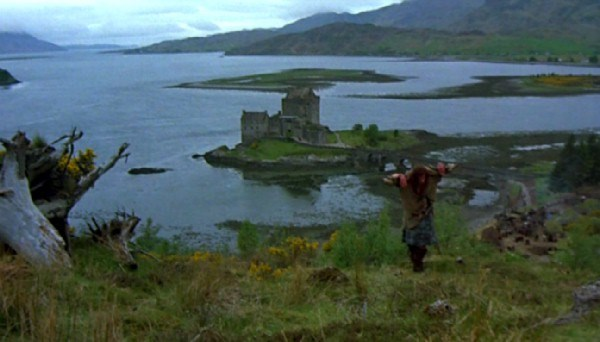 A view of Eilean Donan Castle from Highlander