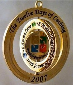12 Days of Caching Geocoin