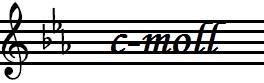 c-moll