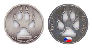Walker's 2010 Czech Dog Geocoin