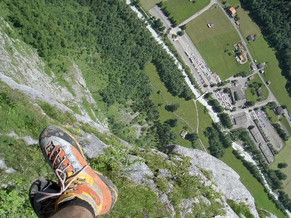 Klettersteig Mürren : Gc ddq klettersteig mürren gimmelwald traditional cache in