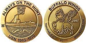 2007 Buffalo Wings Geocoin