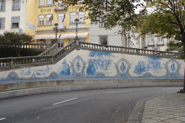Painel de azulejos do Rossio