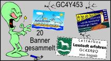 Bannersammler silber