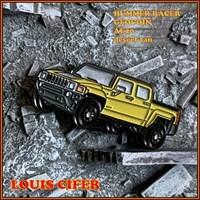 Hummer Racer Geocoin - AE20 - desert tan