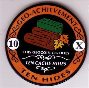 10 cache hides