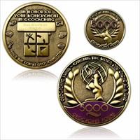 Geo Award Geocoin – 5000 Caches