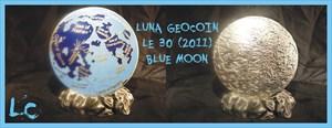 Luna Geocoin LE 30 *Blue Moon*
