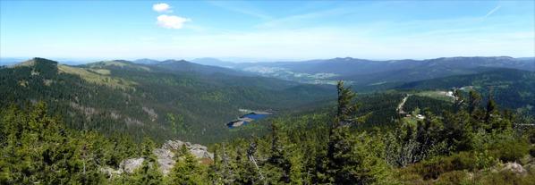 Panorama od M. Javoru po Svaroh
