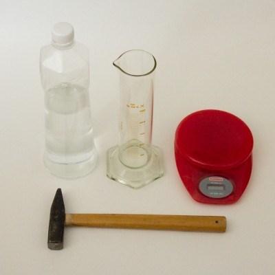 Pomůcky pro experiment / Experiment tools