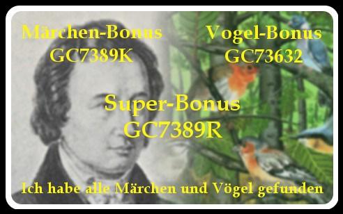 Grimms Märchen + Alle Vögel… *Superbonus* - Gambach