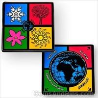 Four Seasons Geocoin