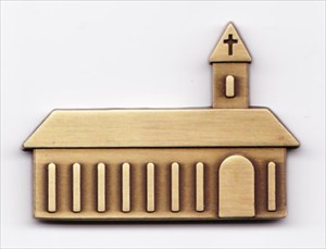 Church Micro Geocoin