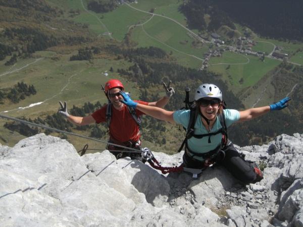Klettersteig Tälli : Geocaching log by karibus for tällistock tälli klettersteig