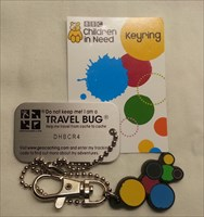 Pudsey's Key Ring