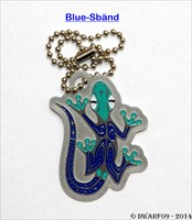 Rocking Gecko 3 - Blue-Sbänd