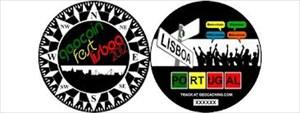 Coin zum Geocoinfest 2012 Lissabon