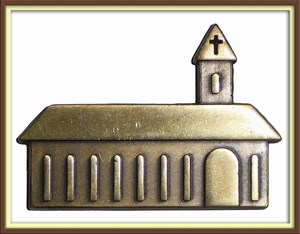 Snoopy's Church Micro Geocoin