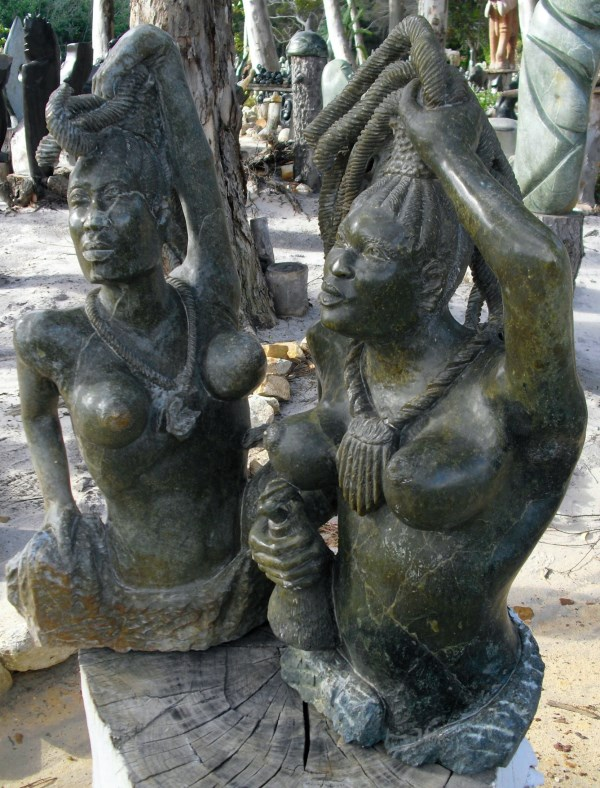 Gc hnf african sculpture garden traditional cache in