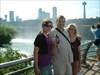 Carol, Sr & Hannah at the Bridal Veil Falls