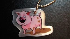 dédé le cochon rose