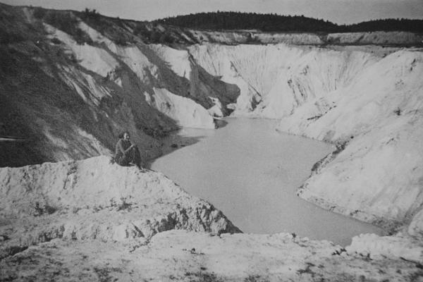 Důl po skončení těžby / The mine after the extraction end
