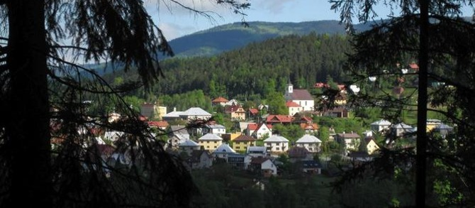 Pohled na Hutisko z Kání