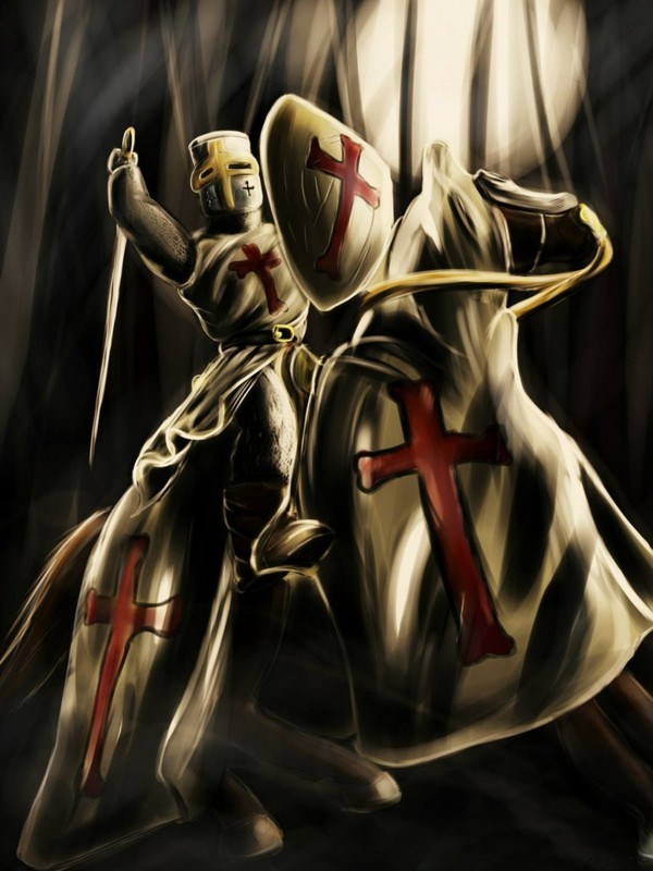 (TB4R5MA) Templar MMXI Geocoin