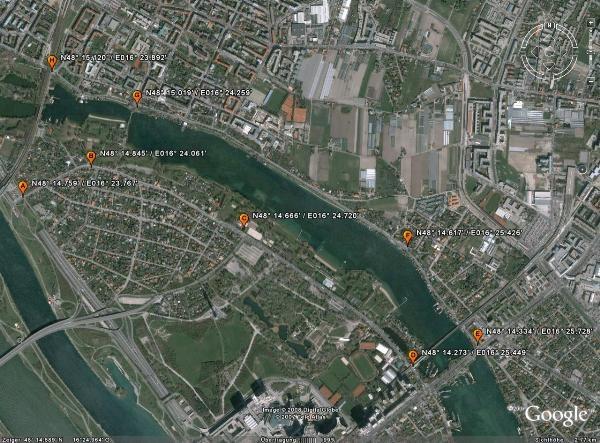 Gc18tng Obere Alte Donau Multi Cache In Wien Austria Created By