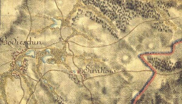 Cechy – Podesin, Sirakov 1764.