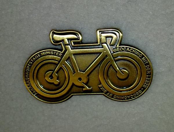 Aquarius.1 Bike Geocoin 2008