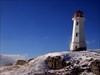 Louisbourg Lighthouse and trail