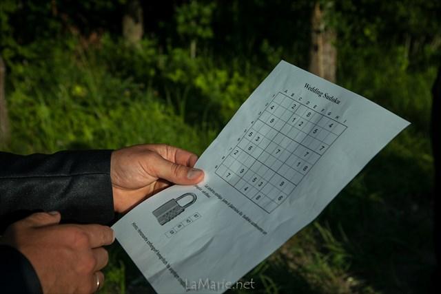 Wedding Sudoku