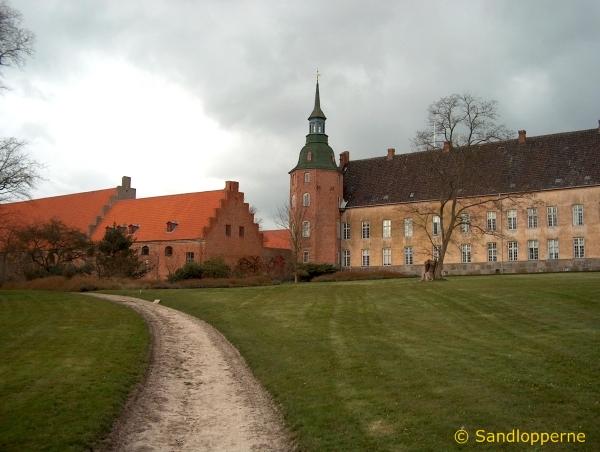 Slottet set fra parken