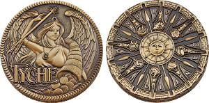 Greek Gods Geocoin - Tyche
