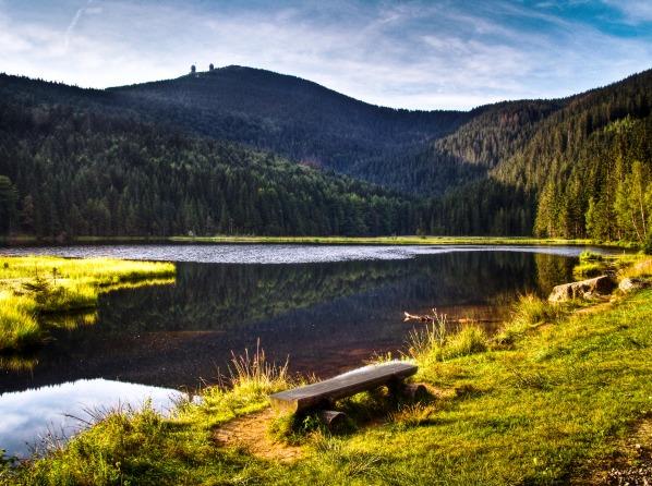 Malé Javorské jezero aVelký Javor
