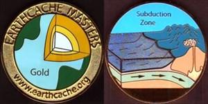 Klaerle's Gold EarthCache Master Geocoin