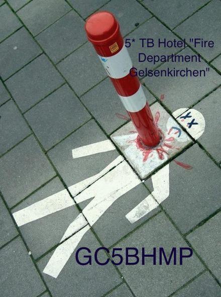 """GC5BHMP - 5* TB Hotel """"Fire Department Gelsenkirchen"""""""